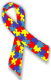 Icon depicting Autistic symbol